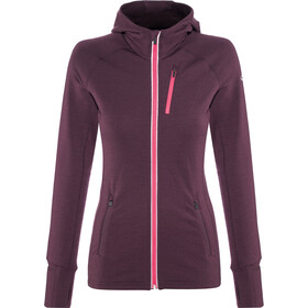Icebreaker Quantum Jacket Women purple